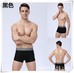 Wholesale Red cotton boxer shorts pouch underwear mens underwear briefs mens underwear men bikini underwear mens underwear boxers