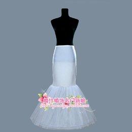 Wholesale 2015 New Wedding Cheap Bridal fishing skirt Ball Gown Plus size Petticoat underdress white Mermaid Trumpet crinoline petticoat slip