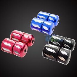 Wholesale 25mm Nonslip Professional Selflock Aluminum Tattoo Machine Grip Back Stem with Tube Black Red Blue