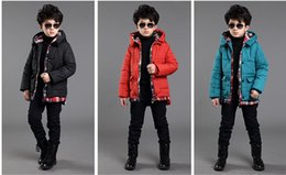 Wholesale The boy new cotton padded jacket Winter fashion cultivate one s morality children cotton coat
