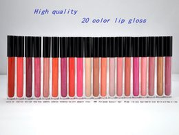 Wholesale High quality HOT New Makeup Dazz Lip Gloss Colors ml English name gift