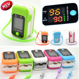 Wholesale LED Blood Oxygen Finger Pulse Oximeter Oxymeter SPO2 PR Heart Rate Monitor FDA