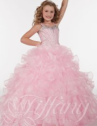 Discount Pink Frilly Dresses | 2017 Pink Frilly Dresses on Sale at ...