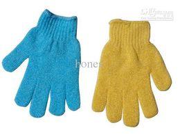 Wholesale Exfoliating Gloves Cloth Scrubber Face Bath Glove Cloth Body Moisturizing Spa Skin Care HB926