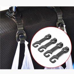 1 пара автомобилей Back Seat подголовник держатель вешалки Крючки для сумки кошелек Ткань Grocer