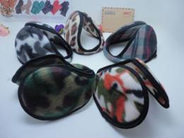 Wholesale Winter Camouflage Ear Cover Hats Caps Ear Muffs Flannelette Ear Muffs Fashion Earmuffs for Mens Womens Ear Protector wedon002