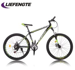 26 inch mountain bike 21 speed dual disc brakes new Mano variable car cross-country road bike