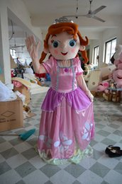 Wholesale Adult Sofia Mascot Costume Princess Cartoon Suit Sophia Fancy Dress A
