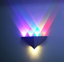 Triangle Led Wall Light Online  Triangle Led Wall Light for Sale