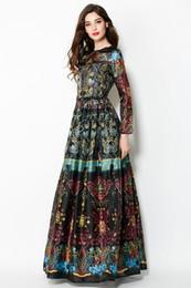 Discount Runway Maxi Dress Vintage Ethnic   2017 Runway Maxi Dress ...