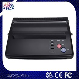 Wholesale lowest price A4 Transfer Paper black Tattoo copier thermal stencil copy Transfer Machine