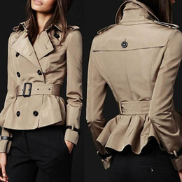 Images of Short Trench Coat Womens - Reikian