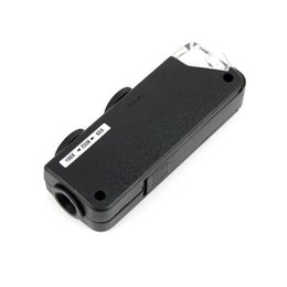 Wholesale Handheld Mini X X Zoom Focus Pocket Microscope LED Light Magnifier Black W1100A