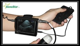 Wholesale Veterinary ultrasound scanner wrist machine for animals with liear probe and rectal probe