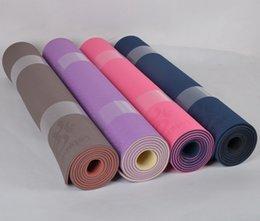 Wholesale BODHI Anti skidding Yoga Mat Slip resistant Thickening Yoga Mat Strap tpe yoga mat EXERCISE MAT