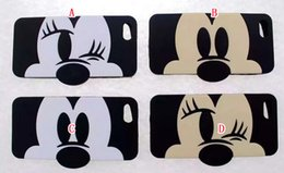 Wholesale 3D Cute Cartoon Soft Silicone gel Phone Case Mickey Minnie Doll Couples For Iphone S plus I6S I6 S TH Skin Cover Black Luxury