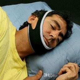 Wholesale Unisex Free Size Stop Snoring Chin Strap Anti Snore Belt Apnea Jaw Support Solution Sleep Opp Bag