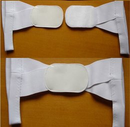 Wholesale 1 SET Body Support Corrector Back Straightener Body Posture Correction Brace Beauty Body Back Support Shoulder Brace Band Belt