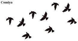 Wholesale Flying eagle glitter tatouages girl lady chain anklet paint body art brand kit sexy bird arm black temporary tattoos Comiya