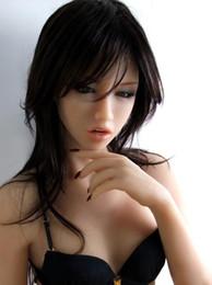 Wholesale 2016 nueva altura sólida de la muñeca cm del sexo del silicón muñeca no inflable muñecas verdaderas del sexo de la muñeca real japonesa del amor del tamaño de la vida para los hombres