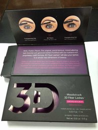 1030 Moodstruck 3D Lashes Fibra Plus MASCARA Set Maquillaje pestañas pestañas doble del rimel del envío 48pcs = 24sets