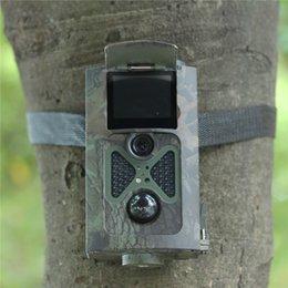 2 LCD120 degré Trail Chasse piège photographique Chargeur solaire et à distance 1080P HD 12MP infrarouge Camouflage Photo HC-100 avec DHL gratuit