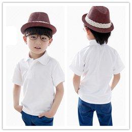 Wholesale Boy Suit Boys Clothing Boys Clothes Baby Boy Fashion New Baby Boys White Short Sleeve T Shirt Blue Shorts Sets Fit t Boys Set Cool