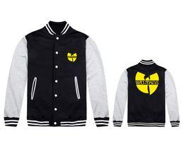 Wholesale 2015 Moda estilo Men Primavera casaco de Outono casaco casual slim homens wu tang casaco de mangas compridas jaqueta tamanho S XL