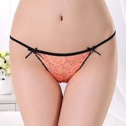 Wholesale New Plus Size Underwear WomenCotton Sexy Women s Thong and G String Women T Back Lingerie G String Panty S M L
