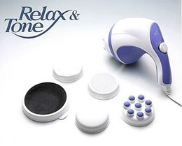 Wholesale Professional Body Sculptor electric Massagers Relax Tone Push fat massager device Broken fat massager V v