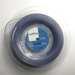 2015 Новый горячий продавая Luxilon теннис струна Alu Мощность Грубый 125 теннис кишка 200м 1,25мм калибр нить веревка Luxilon строка