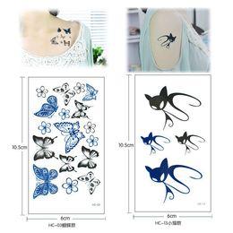 Wholesale 2016 New Fashion Man Woman Environmental Cute Emulational Tattoo Paper Fake Tattoos Scar Cover