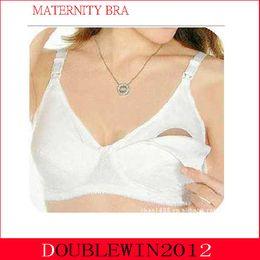 Wholesale Plus Size Feeding Maternity Bra Nursing Underwear Breastfeeding Cotton Push Up Gravidas Lace Bras