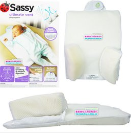 Wholesale New Hot sale Sassy Infant Baby sleeping pillows Baby bed anti apnea shaping pillow neck protection infant pillow LJJD1750