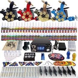 Wholesale Solong Tattoo Sale Tattoo Kit Beginner Machine Gun Power Supply tattoo kit grips TK458