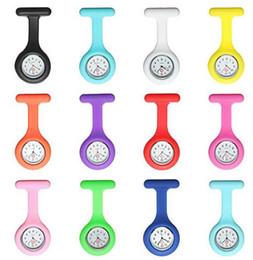 DDA3626 1000шт Новые силиконовые Красочные медсестра смотреть Симпатичные шаблоны Fob Кварцевые часы Доктор Часы карманные часы