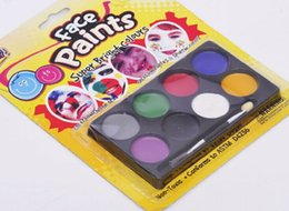 Wholesale European Cup fans Cheer Face Paint color round face color support customiszed