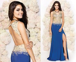 K fashion prom dresses backless