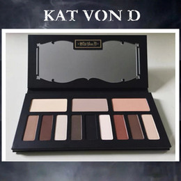 Wholesale 2015 Eyeshadow Palette New KAT VON D SHADE LIGHT CONTOUR PALETTE Colors Bronzers Highlighters Palette Brand New