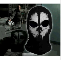 Wholesale New call of duty X Ghosts Mask Outdoor Cycling Bike Motorcycle Windproof Mask CS Game Face mask Protagonist DH04