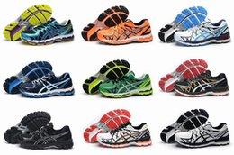 Новые цвета Asics Gel-Каяно 20 T3N2N-32900190 кроссовки для мужчин, легкие Zapatillas Высокая поддержка Спортивный Открытый Кроссовки Eur 40-45