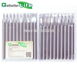Wholesale Stainless Steel Long Tattoo Tips Round Flat For Tattoo Machine Grips FreeShipping from USA warehouse