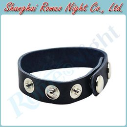 Wholesale Intimate PU Leather Adjustable Cock Rings Male Sex Toys Penis Rings Erotic Sex Products