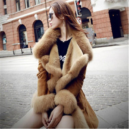 Wholesale European Style Women Clothes Wool Fur Coat High end Cashmere Coat Fashion Real Fur Coats For Women