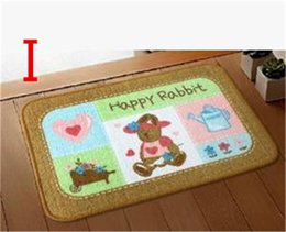 2017 Kids Bath Rug Kids Rug Pink Rugs Bear Room Floor Mats,size:40