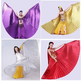 Wholesale 2015 New Arrival PC Egypt Belly Dancing Wings Costume Belly Dance Accessories No Sticks Whloesale