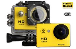 SJ6000 W9 Sport Gopro Caméras DV Wifi Action Caméra Vidéo sans Fil Enregistreur de 2.0 pouces 1080P 170 Large Angle de Voiture DVR de 30M Imperméable à l'eau