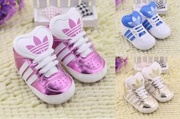 Wholesale PU pink lace baby girl Blabbermouth casual walking shoes Neonatal home interior soft bottom toddler shoes baby wear pair CL