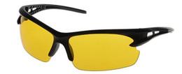 Conducir la visión de los vidrios Graced Noche Las gafas de sol 2015 nuevo estilo de la marca de moda para hombre de sol del deporte de protección ultravioleta libre del envío