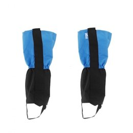 High Quality Outdoor Waterproof Windproof Gaiters Leg Protection Guard Skiing Hiking Climbing 50 Pairs/lot Via DHL Dropshipping